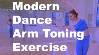 Arm toning exercise / dance class from Modern Dance Workout