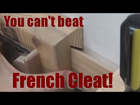 Shop Talk: You can't beat french cleat!