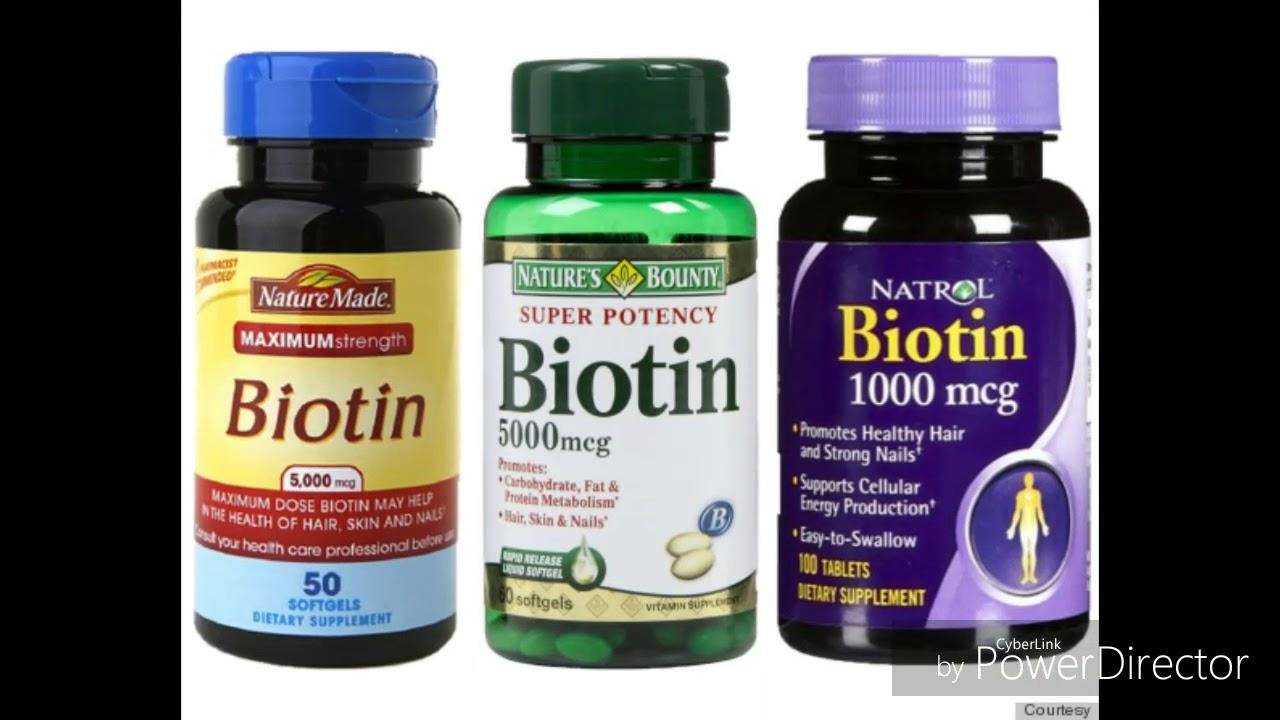 que beneficios tiene la biotina para el cabello