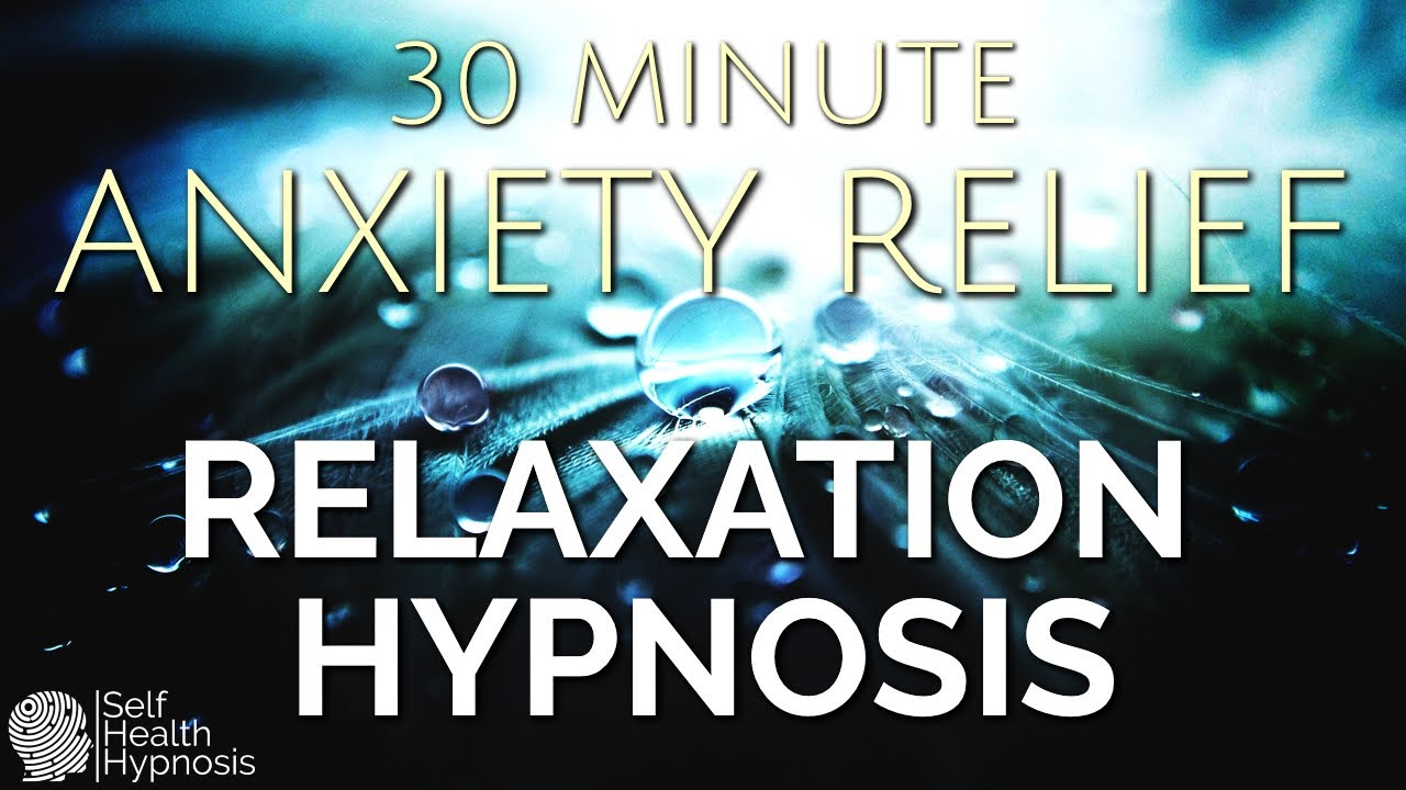 Deep Relaxation Hypnosis For Anxiety Relief (30 Minutes Mindfulness Meditation Music Rain Piano)