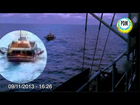 Militari della Marina sparano su nave degli scafisti