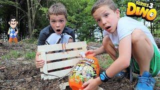 Smashers 3:  Payback Time Squad vs Hello Neighbor Treasure Hunt for Epic Dino Egg