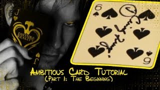 Ambitious Card (Tutorial - Part 1)
