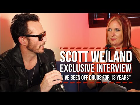 "Scott Weiland: ""It's Been 13 Years Since I Stopped Doing Drugs"""