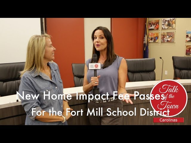 New Home Impact Fee Passes For The Fort Mill School District