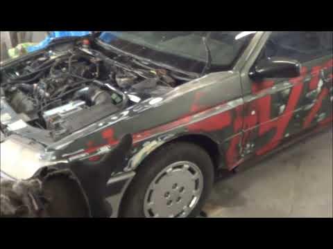 Peugeot 605 V6 3 0  Собери себе Льва! (ч.4) Первый выезд. Зверь!