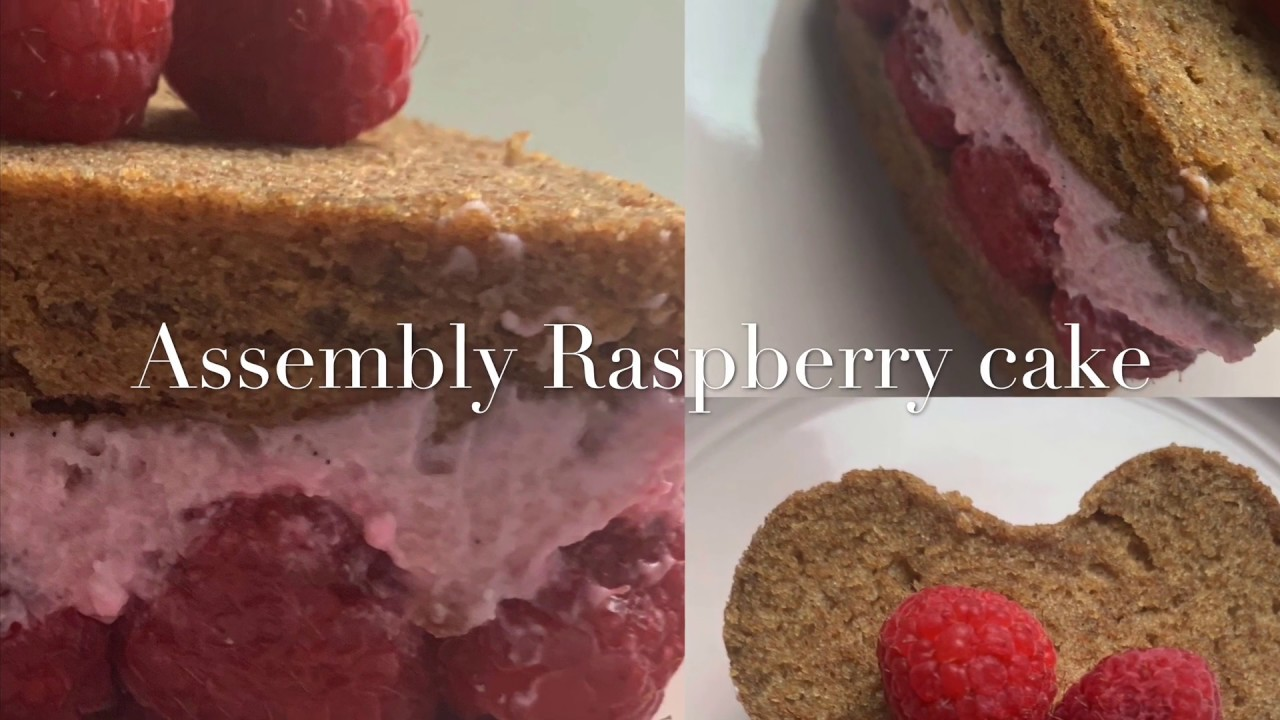 Assembly Vegan Raspberry Cake