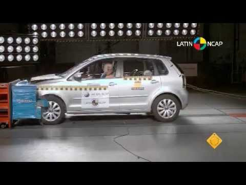 vw polo 2013 crash test latin ncap youtube. Black Bedroom Furniture Sets. Home Design Ideas