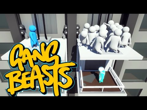 Gang Beasts - Over Capacity [Father and Son Gameplay]