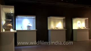 Display of antiquities from early, medieval and modern periods of history