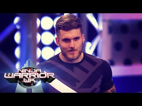 Visually impaired paralympian Dan Powell's INCREDIBLE attempt   Ninja Warrior UK