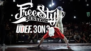 Freestyle Session 2015 3on3 Bboy Battles | UDEF x Silverback x YAK