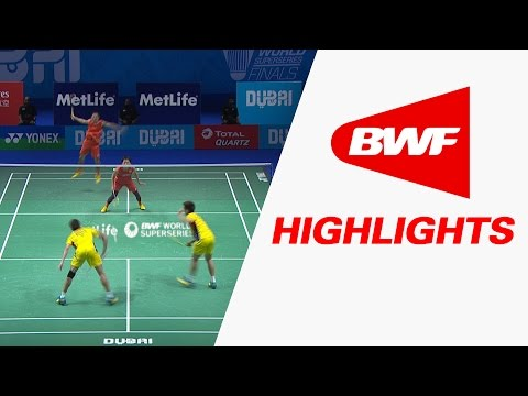 Dubai World Superseries Finals 2016 | Badminton F – Highlights