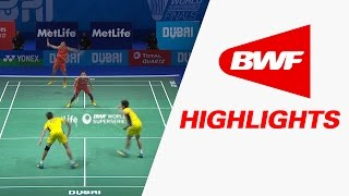 Dubai World Superseries Finals 2016 | Badminton F – Highlights