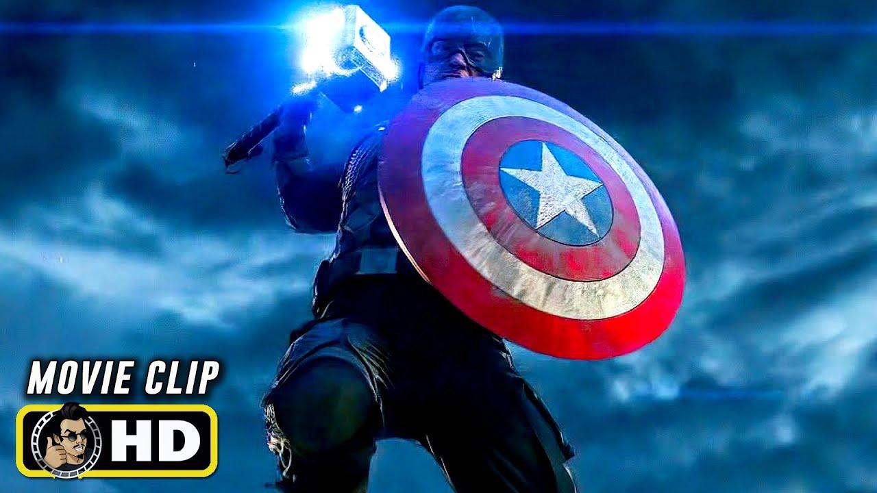 AVENGERS: ENDGAME (2019) Clip - Captain America Vs. Thanos [HD] Marvel