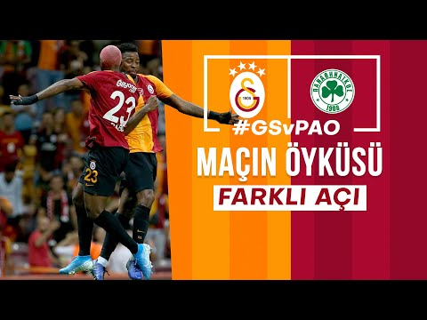 🎥 MAÇIN ÖYKÜSÜ | Galatasaray 2 - 1 Panathinaikos #FarklıAçı