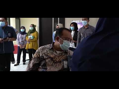 Vaksinasi Covid-19 Tahap I Perwakilan BPKP Provinsi Sulawesi Tengah