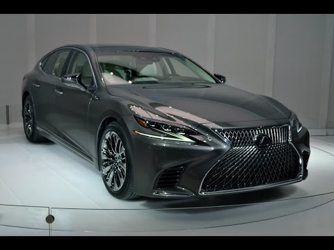 2018 Lexus LS First Look - 2017 Detroit Auto Show