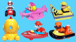 Underwater equipment toys of the Paw Patrol