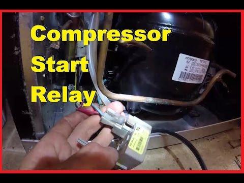 Replacing Start Relay, Fridge Compressor Won't Start