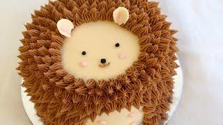 Hedgehog Cake Decorating! - CAKE STYLE