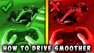 How to Drive Smoother With a Controller on F1 2017