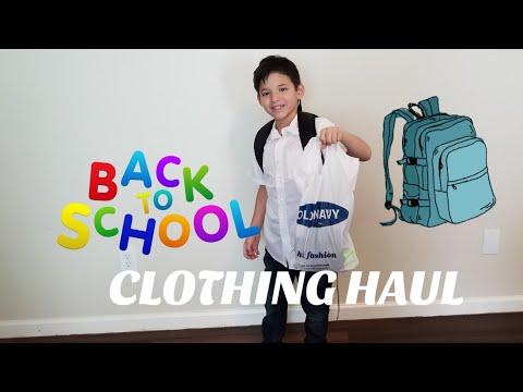 KIDS BACK TO SCHOOL TRY ON HAUL! TARGET, OSHKOSH & OLD NAVY
