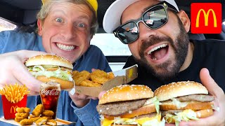 TRYING NEW MCDONALD'S SAWEETIE SPECIAL MEAL with MATT KING!!