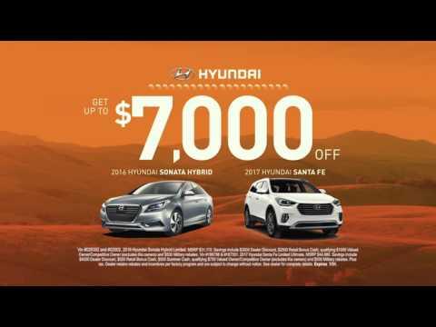 Summer Clearance Event - New Car Hyundai Sale