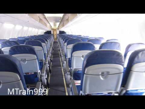 AirTran 737 cabin tour