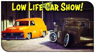 GTA 5 Online - LOWLIFE THEMED CAR SHOW! [GTA V]