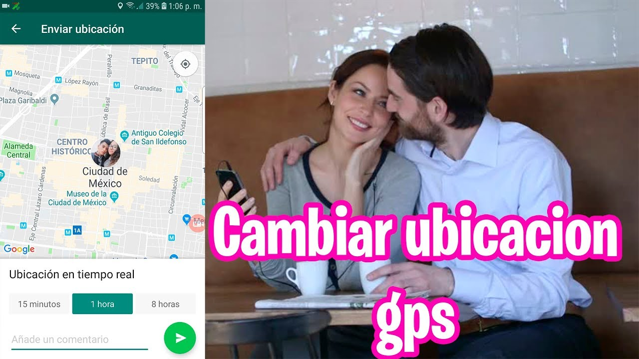 Image result for cambiar UBICACION GPS