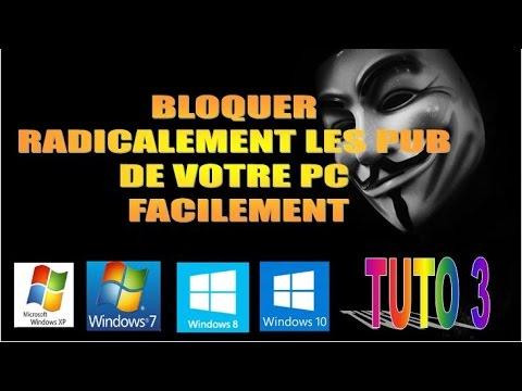 Bloquer radicalement les pubs de votre ordinateur for Bloquer fenetre pub