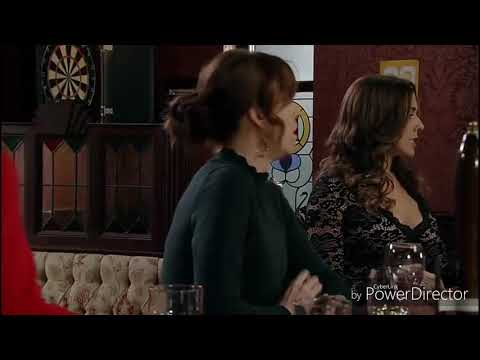 Coronation Street - Toyah & Leanne Fight & Chunking Drink With Michelle & Carla (19th January 2018)