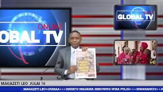 MAGAZETI JULAI 16: WATATU Wauawa Mikononi Mwa Polisi