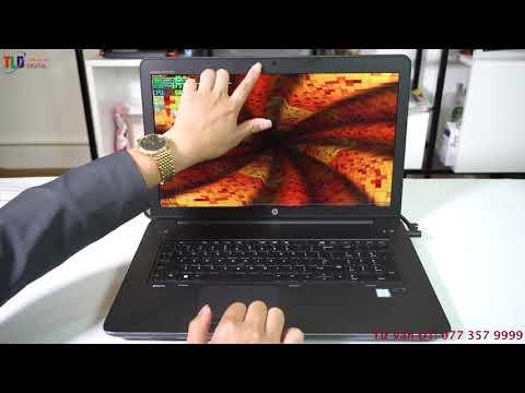 Đáng Giá Chiếc Máy Trạm Hp Zbook 17 G4 Mobile Workstation Cấu Hình Khủng Làm Đồ Hoạ Render 3D