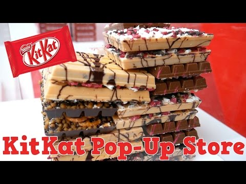 KITKAT POP-UP STORE: CREATE YOUR OWN! - Yum It