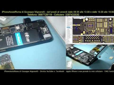 rete cellulare iphone 6