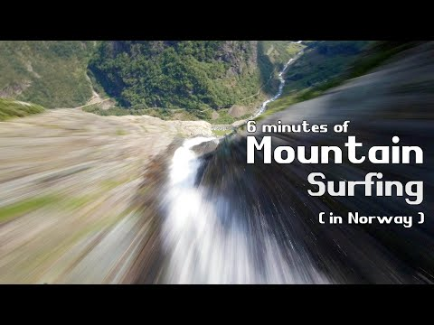 6 Minutes Of Mountain Surfing in Norway | FPV Cinematics