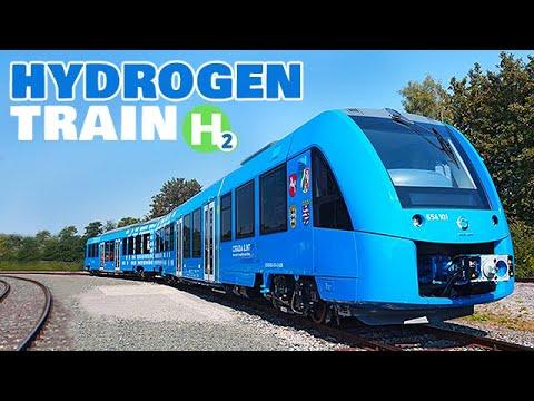 World's First Hydrogen Train - Coradia iLint