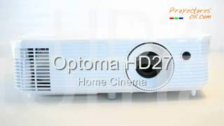 proyector optoma hd27 review proyectoresok