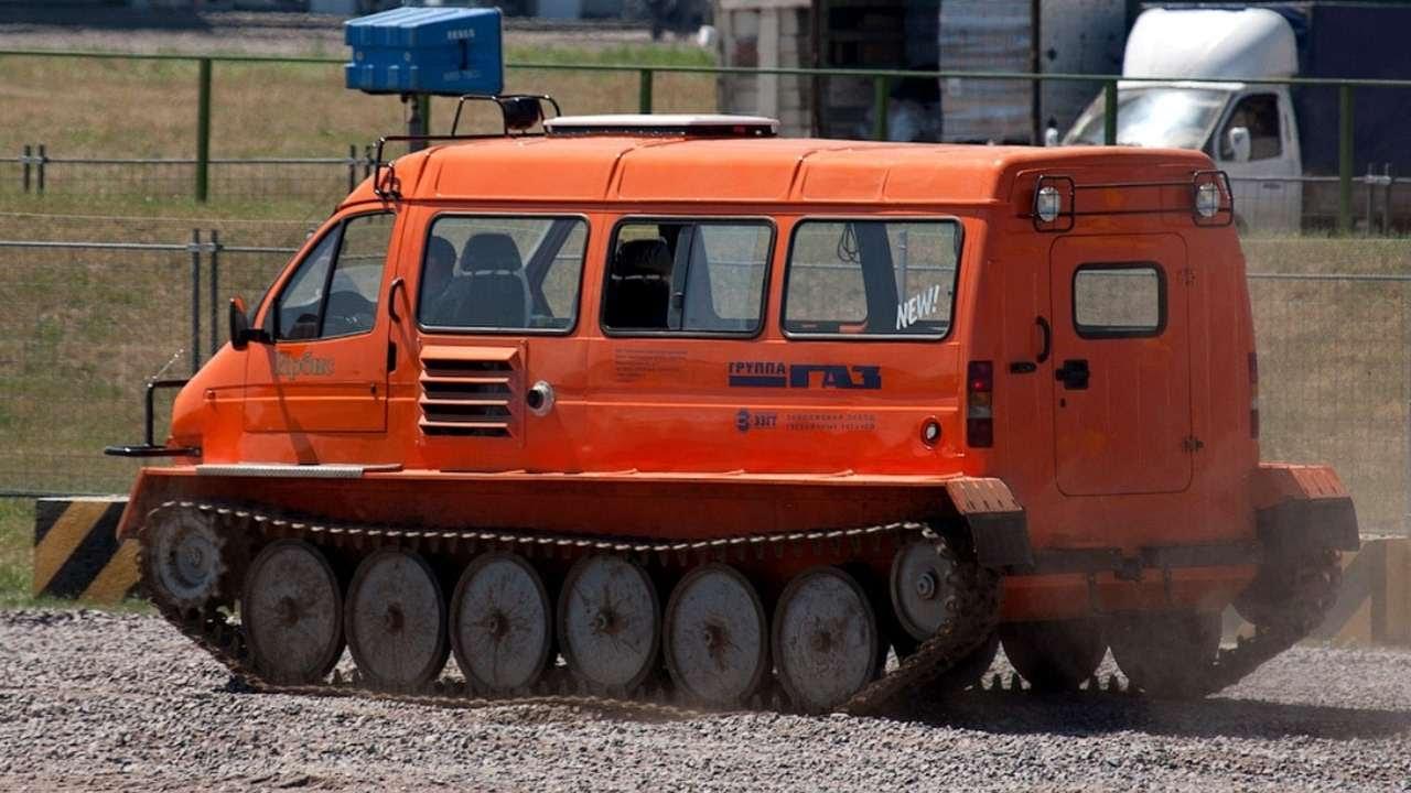 1317. Тюнинг ГАЗ 34039 Ирбис - YouTube