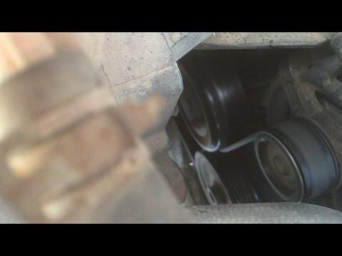 Устранение свиста ремня генератора