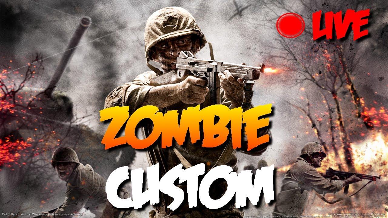 CUSTOM ZOMBIES] Map : Nazi Zombies UGX Christmas - YouTube