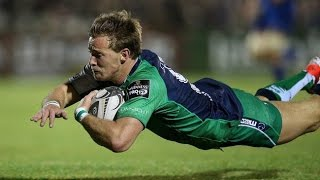 Kieran Marmion try Connacht vs. Leinster Guinness Pro 12 2014