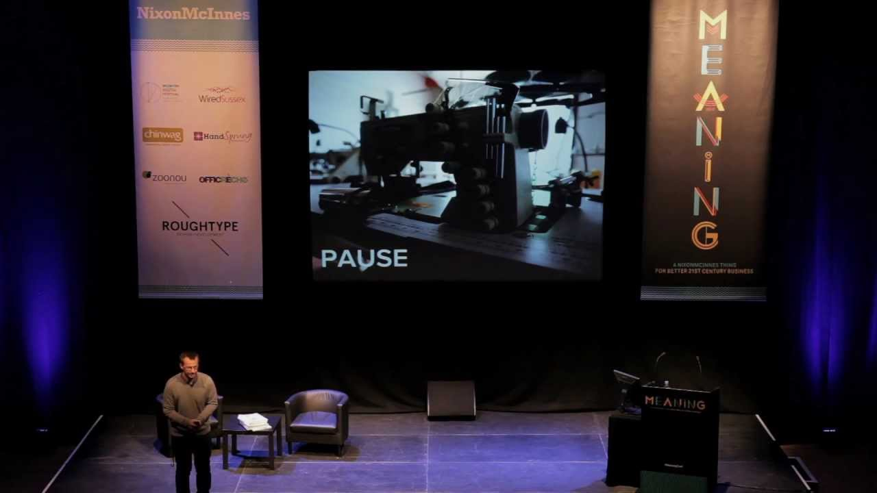 David Hieatt l Purpose in action | Meaning 2012