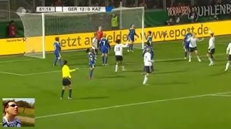 Deutschland 17:0 Kasachstan (Rekordsieg / Frauen-Fussball)