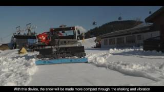 Stehr Snow Compactor -  preparation of ski and racing slopes