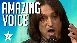most amazing voice audition wins golden buzzer reduces judges to tears got talent global