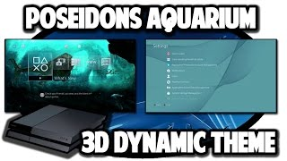 [PS4 THEMES] 3D Poseidon